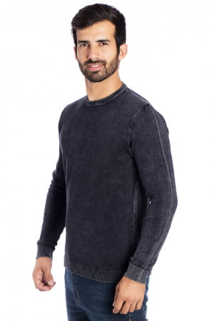 CAMISETA CARECA BASIC STONE PRETO
