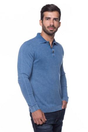 Polo Basic Stone Azul Jeans