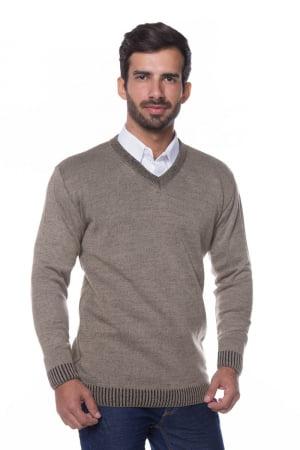 Suéter Básico Wool Caramelo