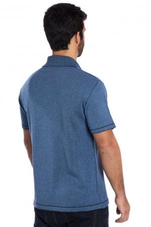 Camisa polo Agassi azul Jeans
