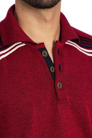 Camisa polo Agassi vermelha